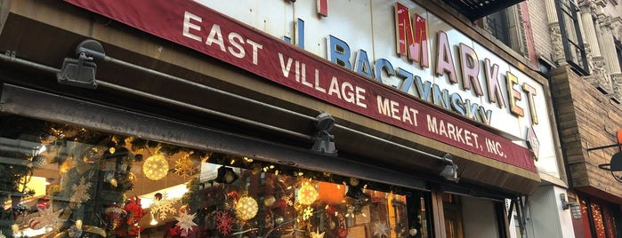 East Village Meat Market is one of new york spots pt.3.