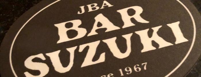 Bar Suzuki is one of Tokyo: Michelins.