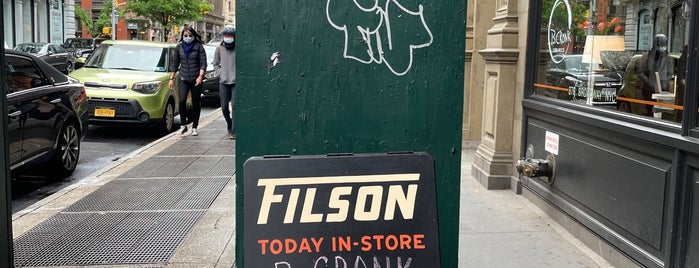Filson is one of Do: NYC ☑️🆕.