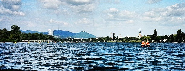 Alte Donau is one of Best sport places in Vienna.