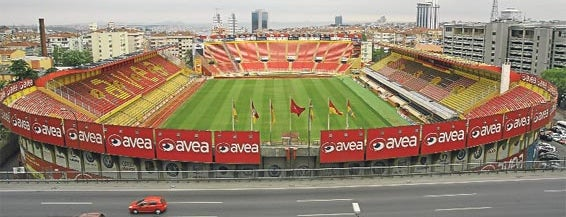 Ali Sami Yen Stadyumu is one of Mekanlar.