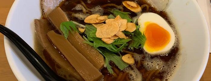 麺人 ばろむ庵 is one of 美味しい.