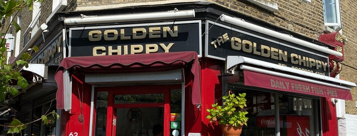 Golden Chippy is one of London & Edinburgh.