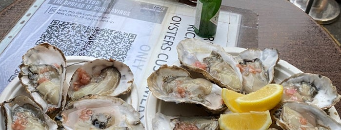 Richard Haward's Oysters is one of London.