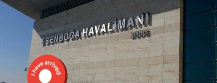 Ankara Esenboğa Havalimanı (ESB) is one of Locais curtidos por ♏️UTLU.