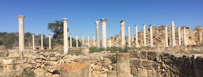 Salamis Antik Amfitiyatro is one of ♏️UTLU'nun Beğendiği Mekanlar.