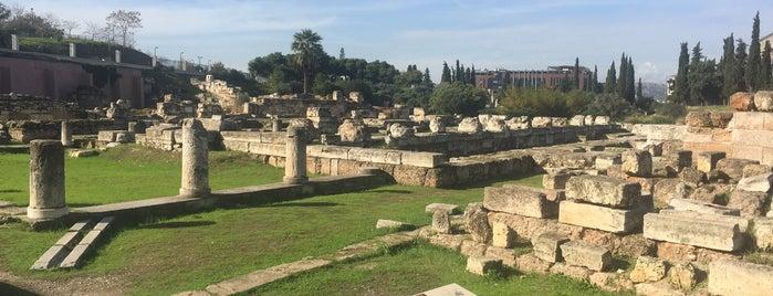 Archaeological Site of Kerameikos is one of ♏️UTLU'nun Beğendiği Mekanlar.