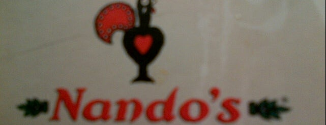 Nando's is one of Orte, die Monique gefallen.