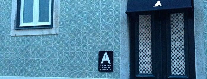 A Casa das Janelas com Vista is one of Lissabon.