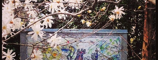 """""""Orphée"""" by Marc Chagall is one of Favorite DC places."""
