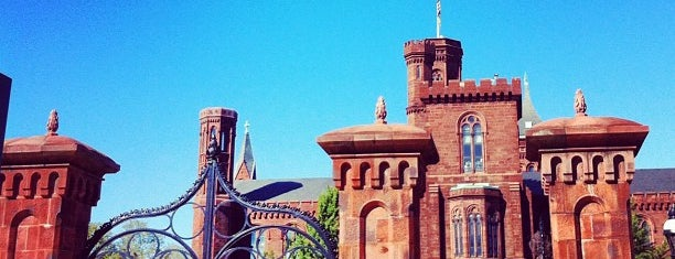 Smithsonian Institution Building (The Castle) is one of Trips / Washington, DC.