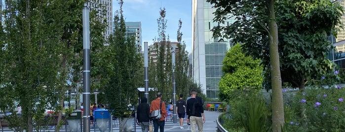 Salesforce Park is one of Orte, die Arjun gefallen.