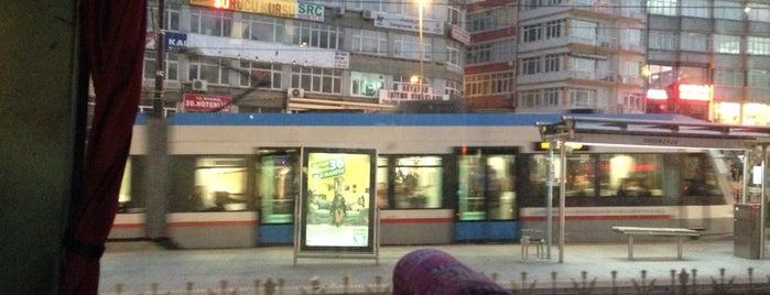 Haseki Tramvay Durağı is one of T1 - Tramvay Durakları.