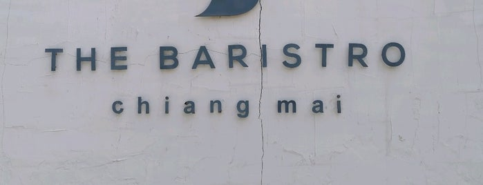 The Baristro at Ping River is one of ChiangMai coffee 2019.