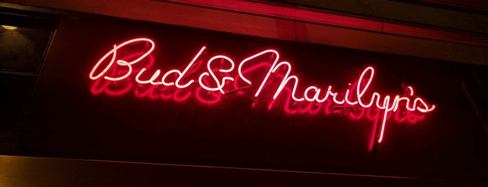 Bud & Marilyn's is one of Favorite Philadelphia Spots.