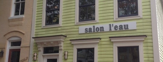 Salon L'eau is one of Posti che sono piaciuti a Angela.