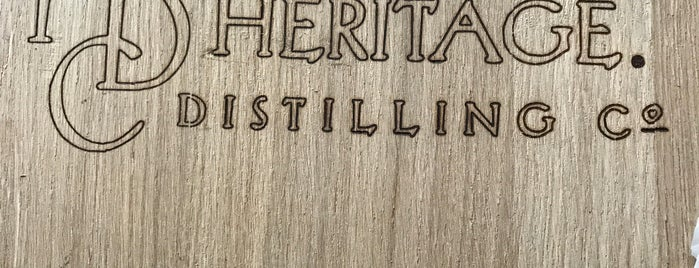 Heritage Distilling Co. is one of Oregon Distillery Trail.