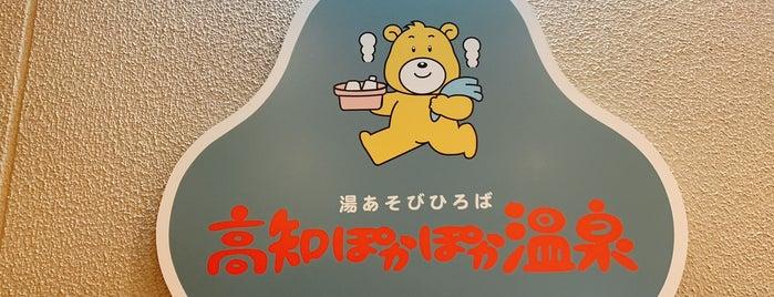 高知ぽかぽか温泉 is one of Lugares favoritos de Boya.