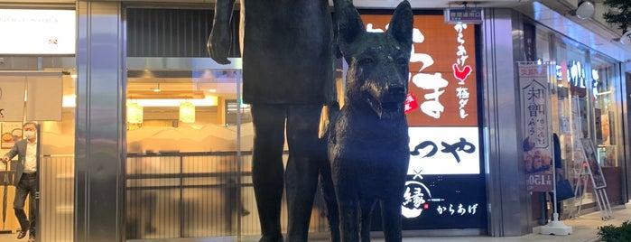 乙女と盲導犬の像 is one of Tokyo 🇯🇵.