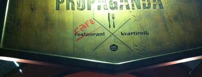 Propaganda Café is one of Kiszyniów.