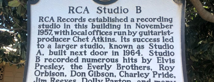 RCA Studio B is one of Weeee.