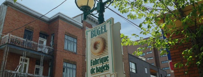 Bügel Fabrique de Bagels is one of Québec.