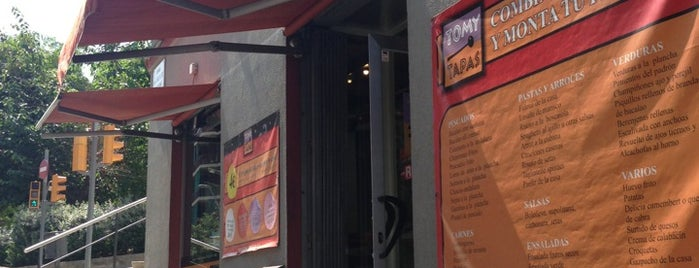 Tomy Tapas is one of Sitios con Wifi en Barcelona.
