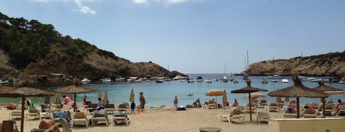 Cala Vedella is one of Ibiza.
