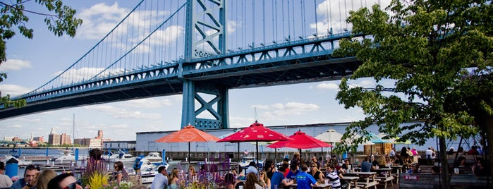Morgan's Pier is one of Pope-Inspired Philly Eats.