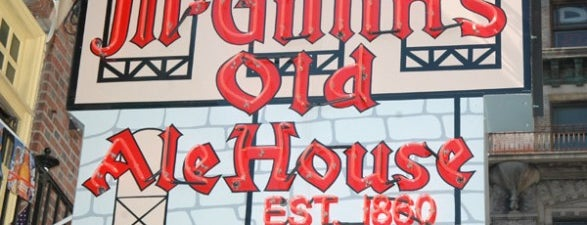 McGillin's Olde Ale House is one of Pope-Inspired Philly Eats.