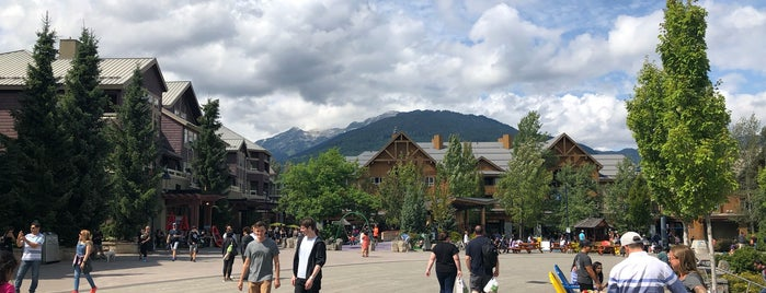 Whistler Village is one of Whistler.