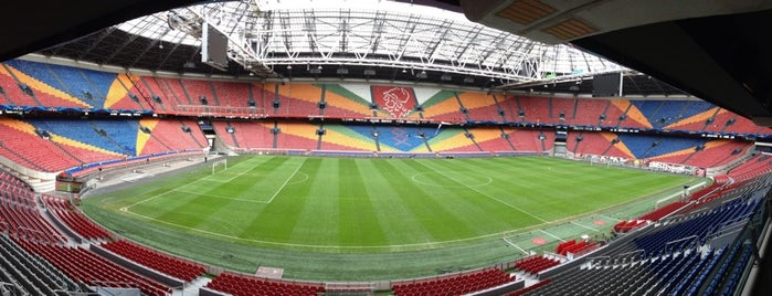 Johan Cruijf Arena is one of Amsterdam.