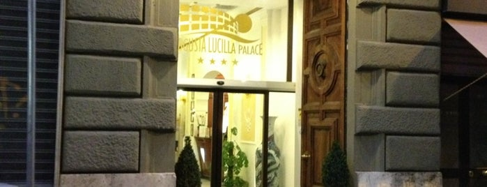 Augusta Lucilla Palace Hotel Rome is one of Fabian 님이 좋아한 장소.