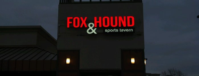 Fox & Hound Bar & Grill is one of Places I Go....