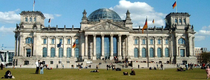 Reichstag is one of Берлин, Германия.