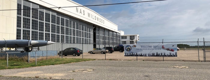 NAS Wildwood Aviation Museum is one of Wishlist.