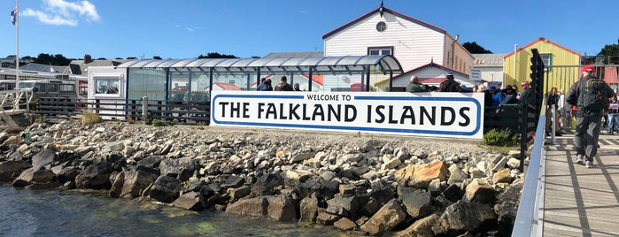 Falkland Islands Tourist Board is one of Columbia Expedition 4: Falklands HO!.