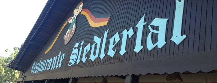 Restaurante Siedlertal is one of Locais curtidos por Paty.