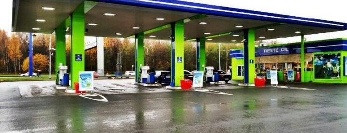 Neste Oil АЗС №306 is one of Locais curtidos por Евгений.