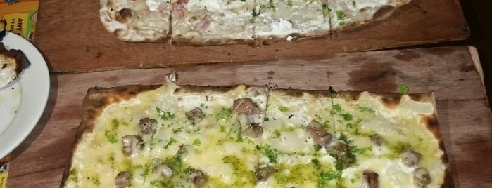 la tarte flambée is one of Been there, done that.