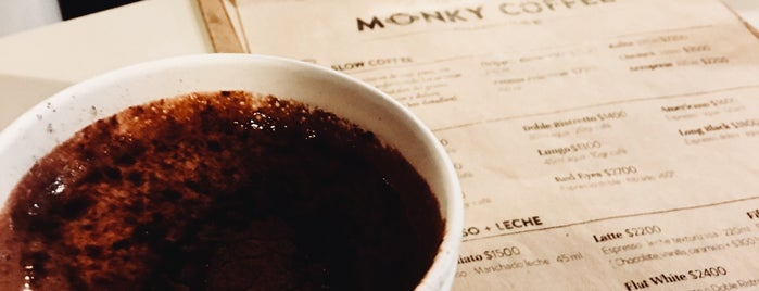 Monky Coffee is one of Talca.