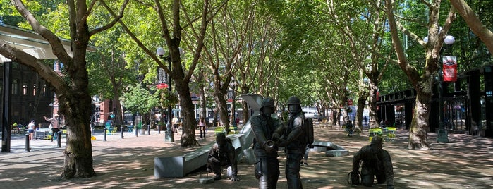 Seattle Firefighters Memorial is one of Been Here.
