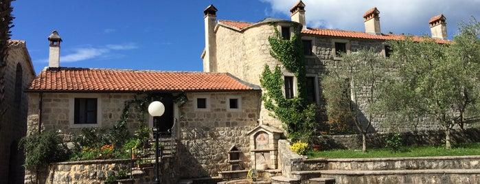Podmaine Monastery is one of Budva.