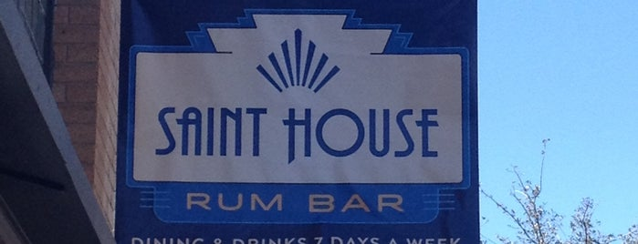 Saint House Rum Bar is one of T-Town.