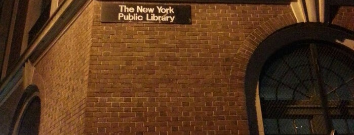 New York Public Library - Hudson Park is one of Kat's Liked Places.