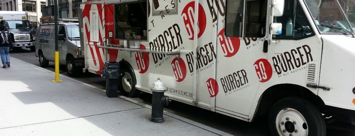 GO Burger Truck is one of nyc todos.