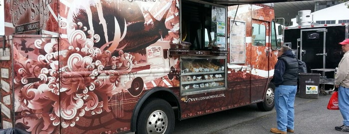 The Cinnamon Snail is one of food trucks.