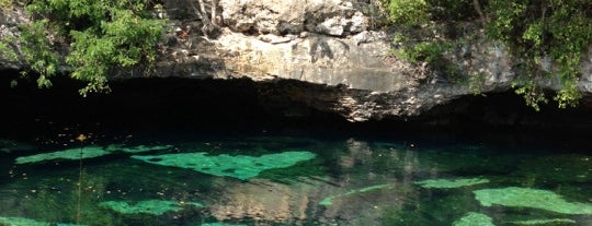 Cenote Azul is one of Caribe Mexicano.