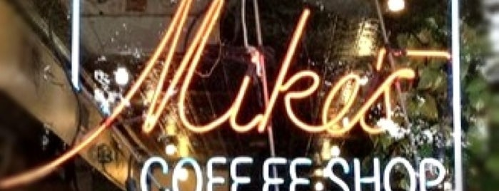 Mike's Coffee Shop is one of Locais salvos de Flora.