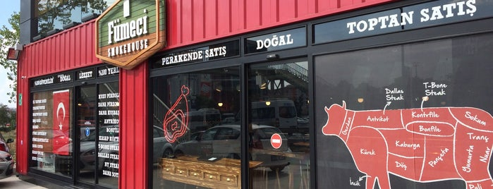 fümeci  smokehouse is one of Eniseさんの保存済みスポット.